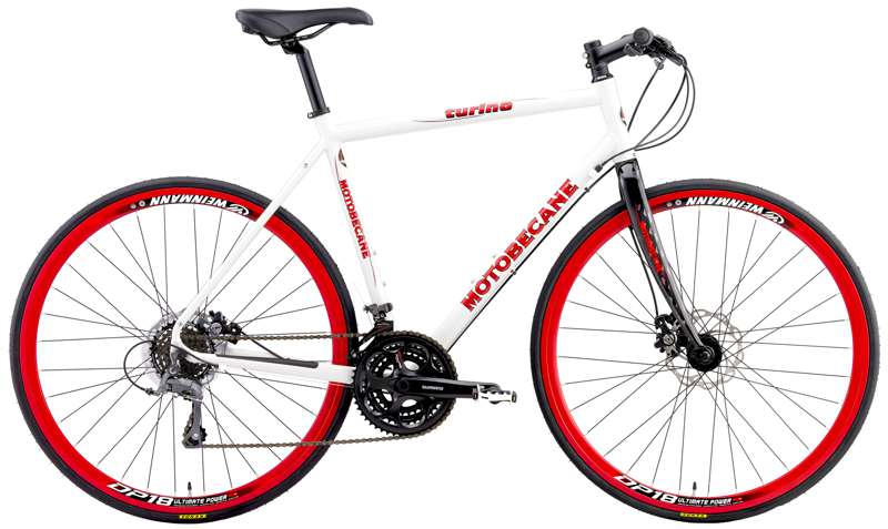 Bikes Motobecane Cafe Turino Disc Brake Flat Bar Road Bike Image