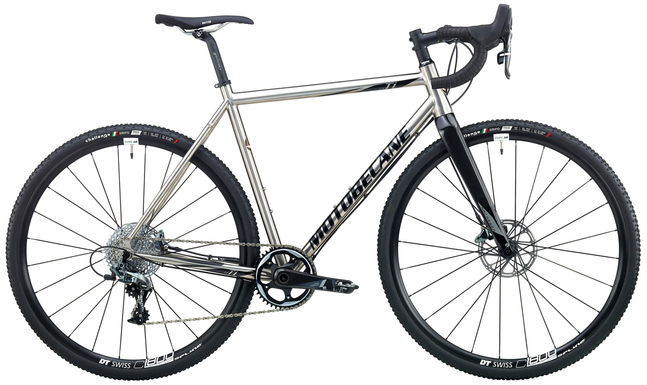 Bikes Motobecane Whipshot Ti Sram Force 1 Equipped Disc Brake Road Bike Image